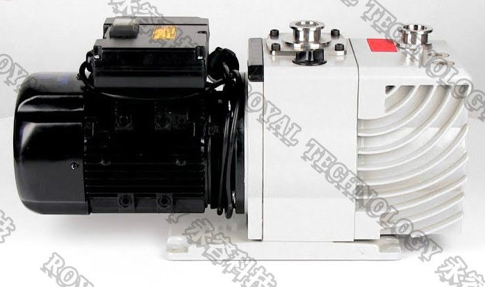 Two Stage Rotary Vane Vacuum Pumps Explosion Proof Motor Low Vibration